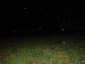 Ghosts of Gettysburg - Orbs in field behind Jennie Wade House