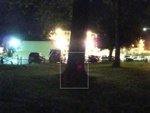 Ghosts of Gettysburg - ghostly soldier 'dead' against tree