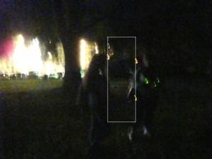 Ghosts of Gettysburg - Soldier between ladies - indicated