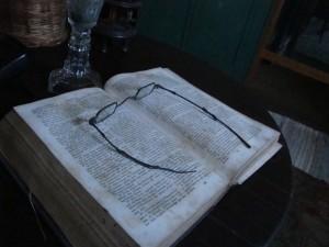 Old Bethpage Village Restoration - Williams House Bible