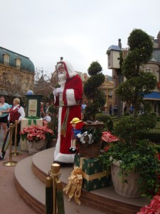 Disney World Showcase at Epcot Center - Christmas in France