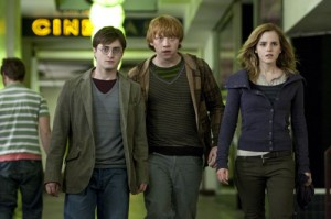 Harry, Ron and Hermione now