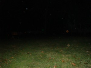 Ghosts of Gettysburg - Orbs in field behind Jennie Wade House