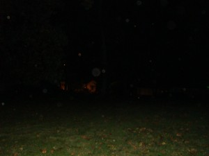 Ghosts of Gettysburg - Orbs - Field behind Jennie Wade House