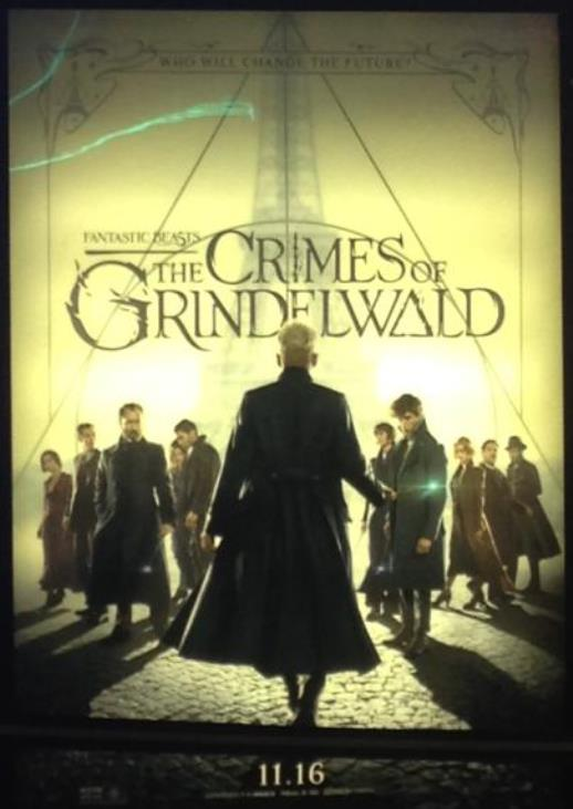 Johnny Depp is my Grindelwald