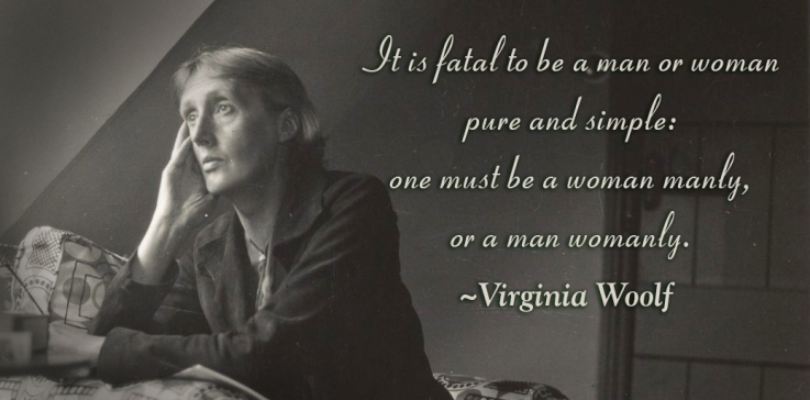 Men and women Virginia Woolf - Not your Mother's Romantic Suspense